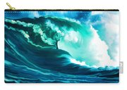Winter Pacific Surf Carry-all Pouch