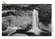 Winter Palouse Falls 3 Carry-all Pouch