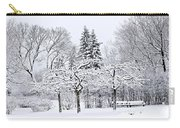 Winter Park Landscape Carry-all Pouch by Elena Elisseeva