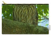 Winter Park Owl Carry-all Pouch