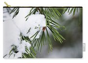 Winter Pine Branches Carry-all Pouch