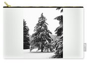 Winter Pines Carry-all Pouch