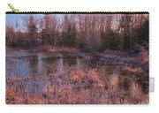 Winter Pond Landscape Carry-all Pouch