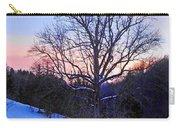 Winter Poplar Tree Carry-all Pouch