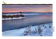 Winter Quiet And Colorful Carry-all Pouch