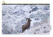 Winter Ram Carry-all Pouch