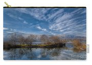 Winter Reflections Carry-all Pouch by Adrian Evans