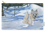 Winter Romp Carry-all Pouch by Molly Poole