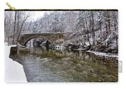 Winter Scene At Valley Green Carry-all Pouch