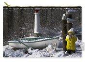 Winter Scene Michigan #1 Carry-all Pouch