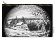 Winter Scene Ornament Carry-all Pouch