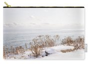 Winter Shore Of Lake Ontario Carry-all Pouch
