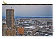 Winter Skyway Downtown Buffalo Ny Carry-all Pouch