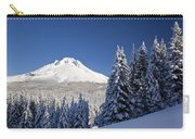Winter Snow Over The Cascade Range Carry-all Pouch