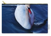 Winter Spin... Swan Style Carry-all Pouch