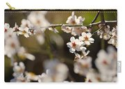 Winter Spring Almond Flowers Carry-all Pouch