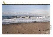Winter Storm In New Hampshire Art Print Carry-all Pouch