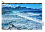 Winter Storm Surf At Ho'okipa Maui Carry-all Pouch
