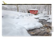 Winter Stream Carry-all Pouch by Bill Wakeley