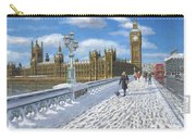 Winter Sun - Houses Of Parliament London Carry-all Pouch