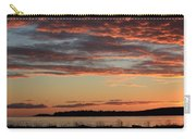 Winter Sunrise At Rathtrevor Carry-all Pouch