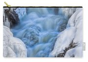 Winter Sunrise Great Falls Carry-all Pouch