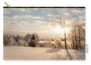 Winter Sunrise Panorama Carry-all Pouch