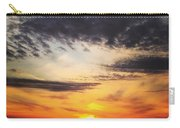 Winter Sunset 2 Carry-all Pouch