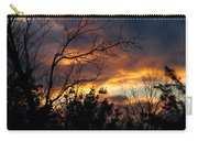 Winter Sunset In The Rogue Valley Carry-all Pouch
