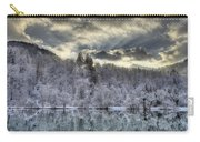 Winter Sunset Carry-all Pouch by Ivan Slosar