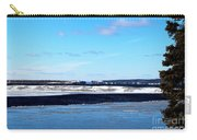 Winter Sunset On The Islands Carry-all Pouch