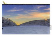 Winter Sunset Over Eagle Lakes Carry-all Pouch