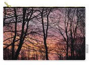 Winter Sunset Wsp Carry-all Pouch