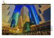 Winter Sunshine In Battery Park City Carry-all Pouch