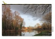 Winter Sunshine On The Wey Canal Surrey Uk Carry-all Pouch