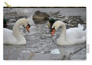 Winter Swans  Carry-all Pouch