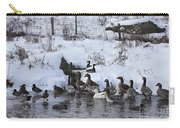 Winter Swimming Hole Carry-all Pouch