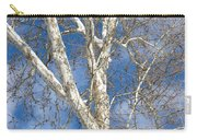 Winter Sycamore Carry-all Pouch