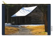 Winter Time At Carter Sheilds Place Carry-all Pouch