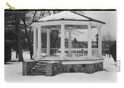 Winter Time Gazebo Carry-all Pouch