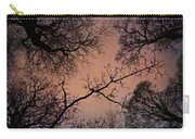 Winter Tree Canopy Carry-all Pouch
