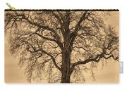 Winter Tree - Old Carry-all Pouch