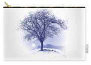 Winter Tree On Hill  Carry-all Pouch