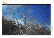 Winter Tree On Sky Carry-all Pouch