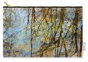 Winter Tree Reflections Carry-all Pouch