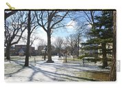 Winter Tree Shadows Carry-all Pouch
