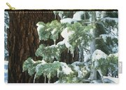 Winter Tree Sierra Nevada Mts Ca Usa Carry-all Pouch