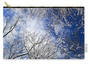 Winter Trees And Blue Sky Carry-all Pouch