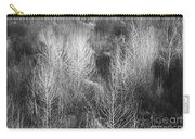 Winter Trees  B And W 1 Carry-all Pouch
