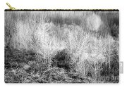 Winter Trees B And W 3 Carry-all Pouch